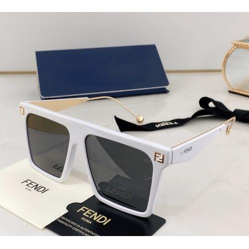 Fendi AAA Quality Sunglasses #783559