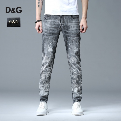 Dolce & Gabbana D&G Jeans Trousers For Men #783619