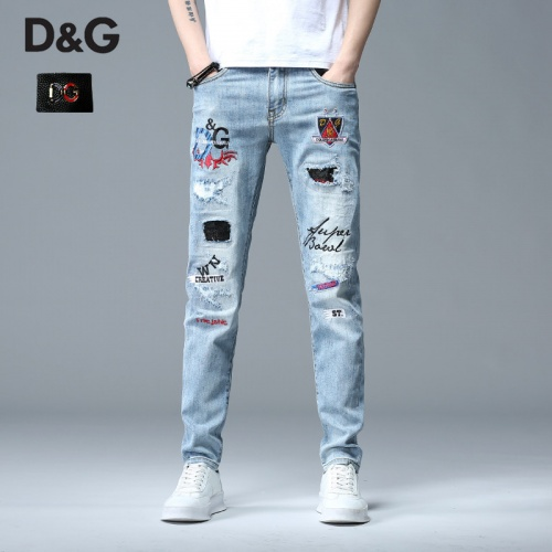 Dolce & Gabbana D&G Jeans Trousers For Men #783633