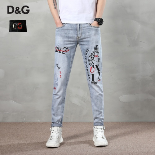 Dolce & Gabbana D&G Jeans Trousers For Men #783639