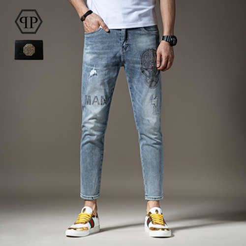 Philipp Plein PP Jeans Trousers For Men #783646