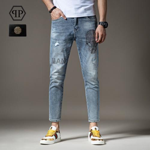 Philipp Plein PP Jeans Trousers For Men #783646