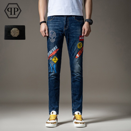 Philipp Plein PP Jeans Trousers For Men #783647