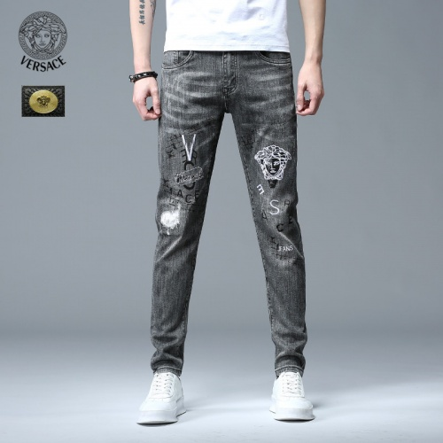 Versace Jeans Trousers For Men #783655 $46.56, Wholesale Replica Versace Jeans