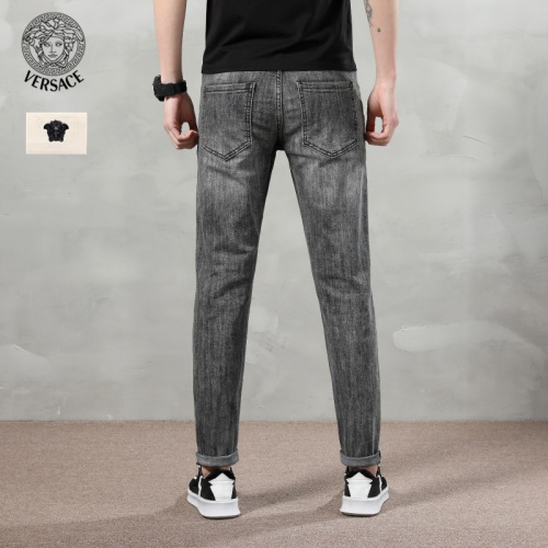 Replica Versace Jeans Trousers For Men #783657 $46.56 USD for Wholesale