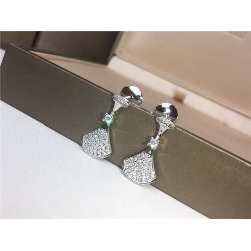 Bvlgari Earrings #783754 $31.04, Wholesale Replica Bvlgari Earrings