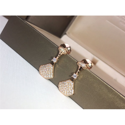Bvlgari Earrings #783755 $31.04, Wholesale Replica Bvlgari Earrings