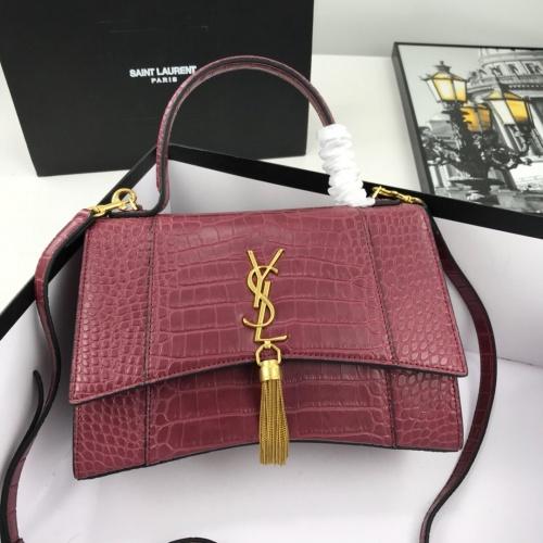 Yves Saint Laurent YSL AAA Quality Handbags For Women #783760 $94.09, Wholesale Replica Yves Saint Laurent AAA Handbags