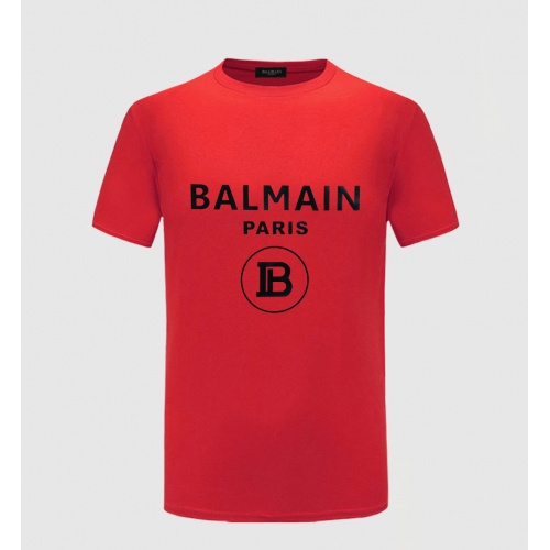 Balmain T-Shirts Short Sleeved O-Neck For Men #783765