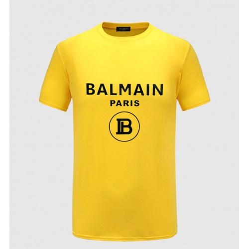 Balmain T-Shirts Short Sleeved O-Neck For Men #783766