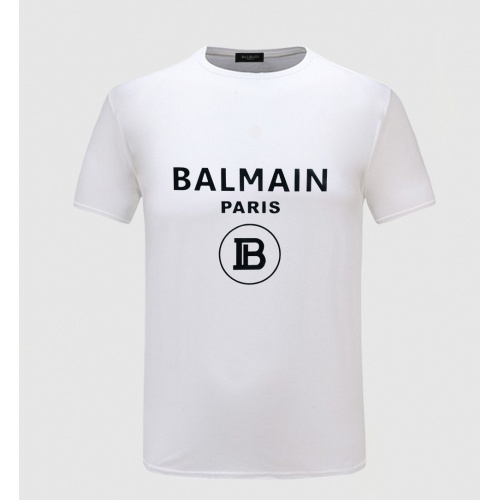 Balmain T-Shirts Short Sleeved O-Neck For Men #783767