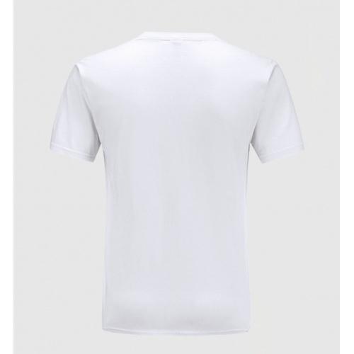 Replica Balmain T-Shirts Short Sleeved O-Neck For Men #783767 $23.28 USD for Wholesale