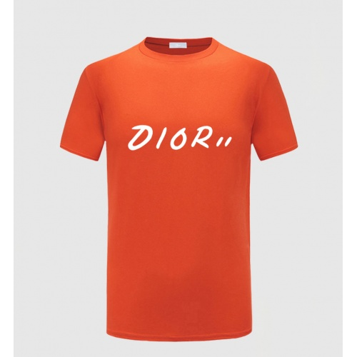 Christian Dior T-Shirts Short Sleeved O-Neck For Men #783787 $23.28 USD, Wholesale Replica Christian Dior T-Shirts