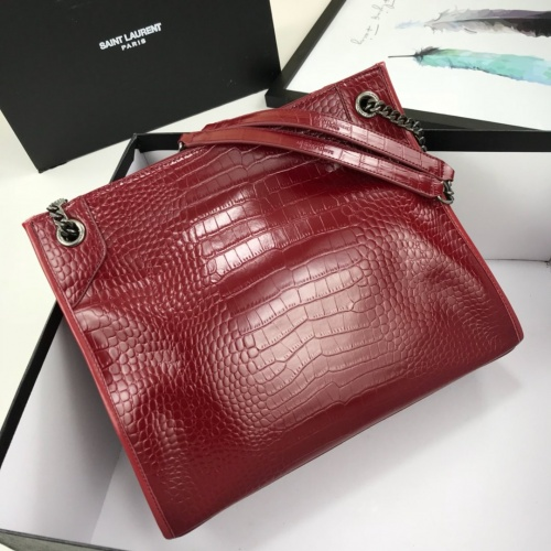 Replica Yves Saint Laurent YSL AAA Quality Shoulder Bags For Women #783792 $102.82 USD for Wholesale
