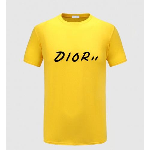 Christian Dior T-Shirts Short Sleeved O-Neck For Men #783793