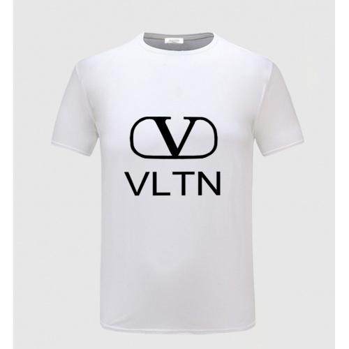 Valentino T-Shirts Short Sleeved O-Neck For Men #783826 $23.28, Wholesale Replica Valentino T-Shirts
