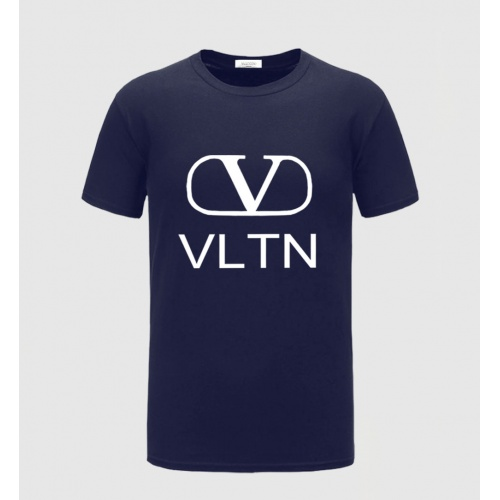 Valentino T-Shirts Short Sleeved O-Neck For Men #783829 $23.28, Wholesale Replica Valentino T-Shirts