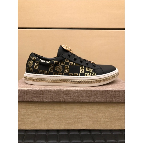 Replica Versace Casual Shoes For Men #783938 $69.84 USD for Wholesale