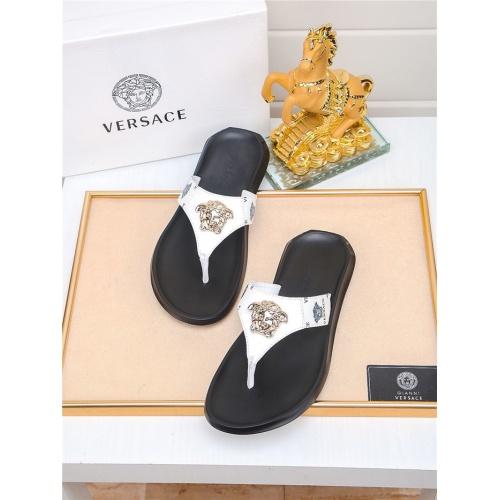 Versace Slippers For Men #783946 $43.65, Wholesale Replica Versace Slippers