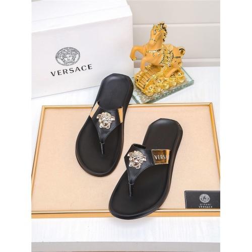 Versace Slippers For Men #783947 $698.40, Wholesale Replica Versace Slippers