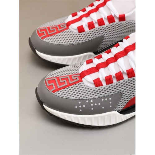 Replica Versace Casual Shoes For Men #783972 $73.72 USD for Wholesale