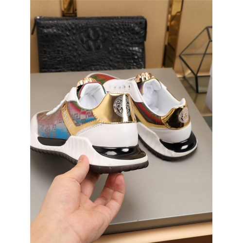 Replica Versace Casual Shoes For Men #783974 $77.60 USD for Wholesale