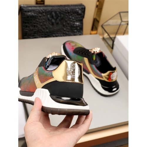 Replica Versace Casual Shoes For Men #783975 $77.60 USD for Wholesale