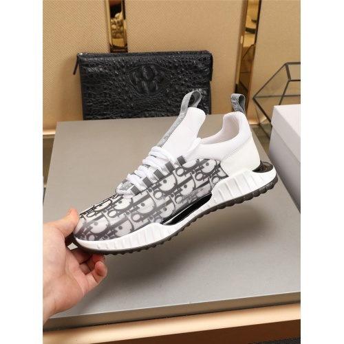 Replica Christian Dior Casual Shoes For Men #783998 $73.72 USD for Wholesale