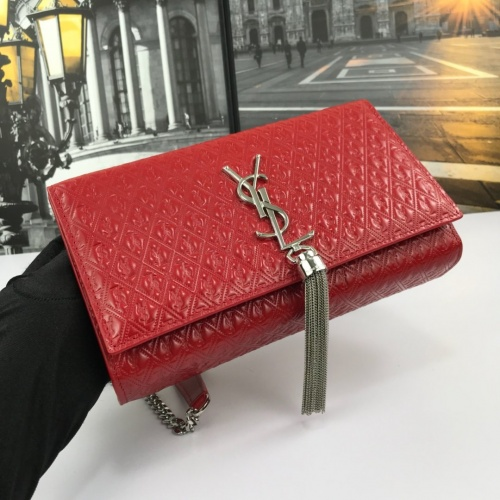 Replica Yves Saint Laurent YSL AAA Quality Messenger Bags For Women #784046 $96.03 USD for Wholesale