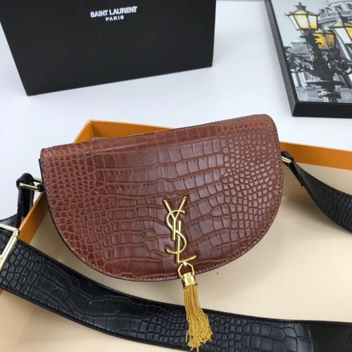 Yves Saint Laurent YSL AAA Quality Messenger Bags For Women #784053 $86.33, Wholesale Replica Yves Saint Laurent YSL AAA Messenger Bags