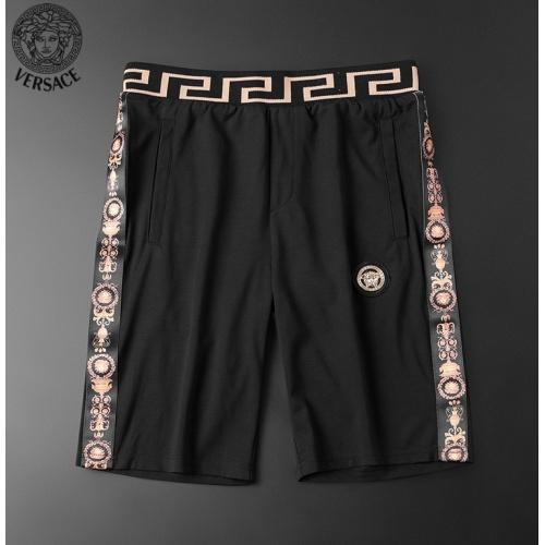 Replica Versace Tracksuits Short Sleeved O-Neck For Men #784059 $62.08 USD for Wholesale