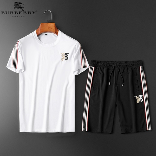 Burberry Tracksuits Short Sleeved O-Neck For Men #784063
