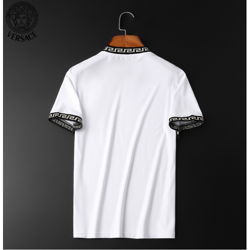 Replica Versace Tracksuits Short Sleeved O-Neck For Men #784065 $62.08 USD for Wholesale