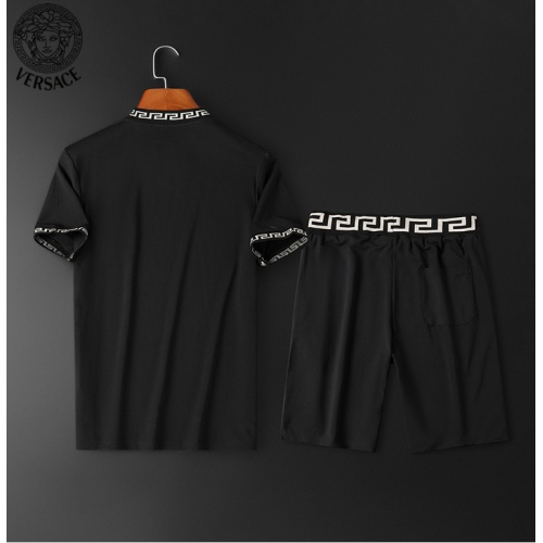 Replica Versace Tracksuits Short Sleeved O-Neck For Men #784066 $62.08 USD for Wholesale