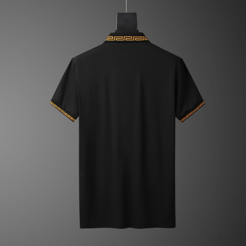 Replica Versace Tracksuits Short Sleeved Polo For Men #784072 $65.96 USD for Wholesale