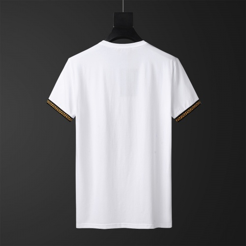 Replica Versace Tracksuits Short Sleeved O-Neck For Men #784076 $65.96 USD for Wholesale