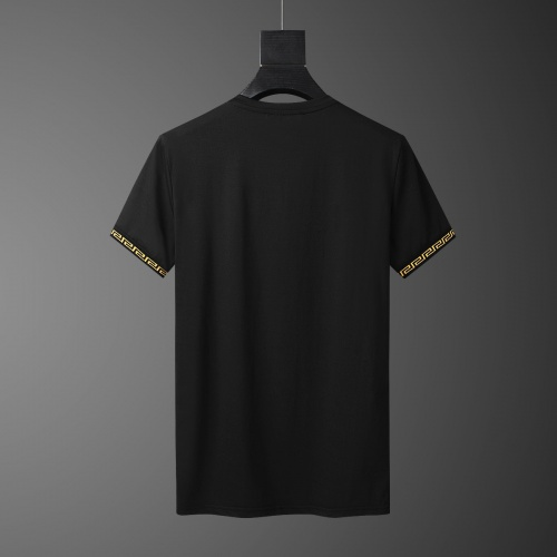 Replica Versace Tracksuits Short Sleeved O-Neck For Men #784077 $65.96 USD for Wholesale