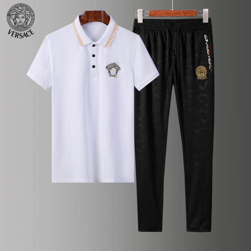 Versace Tracksuits Short Sleeved Polo For Men #784087