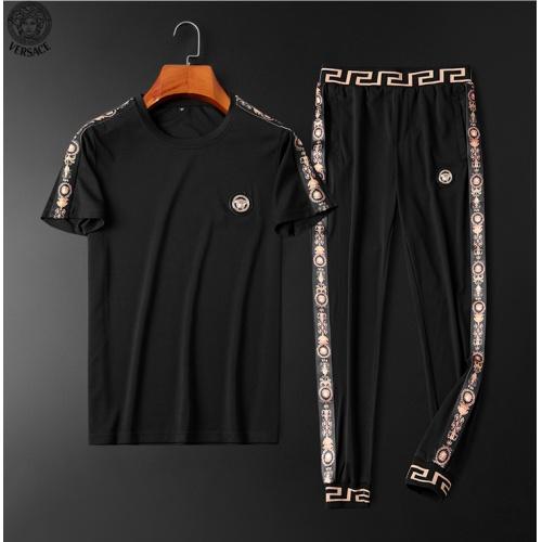 Versace Tracksuits Short Sleeved O-Neck For Men #784096