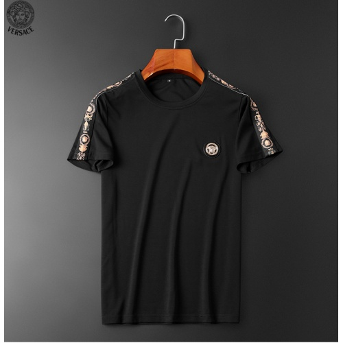 Replica Versace Tracksuits Short Sleeved O-Neck For Men #784096 $65.96 USD for Wholesale