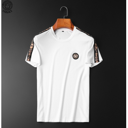 Replica Versace Tracksuits Short Sleeved O-Neck For Men #784097 $65.96 USD for Wholesale