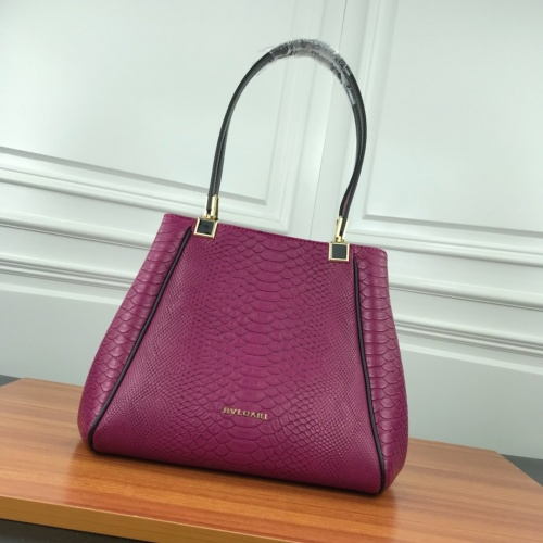 Bvlgari AAA Quality Shoulder Bags For Women #784121 $90.21, Wholesale Replica Bvlgari AAA Handbags