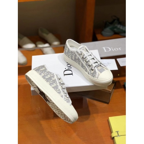 Replica Christian Dior Casual Shoes For Women #784124 $82.45 USD for Wholesale