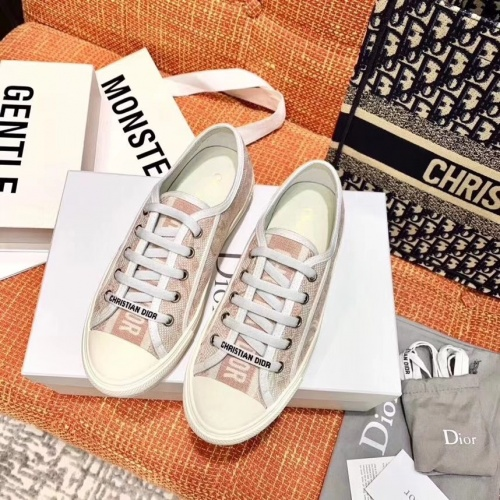 Christian Dior Casual Shoes For Women #784125 $82.45 USD, Wholesale Replica Christian Dior Shoes