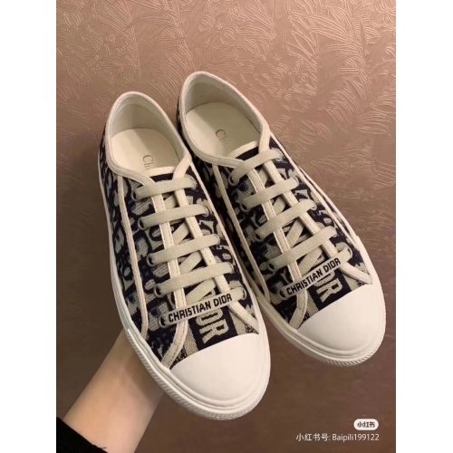 Christian Dior Casual Shoes For Women #784126 $82.45 USD, Wholesale Replica Christian Dior Shoes