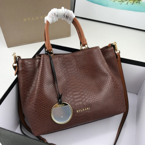 Bvlgari AAA Quality Handbags For Women #784133