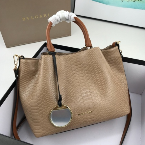 Bvlgari AAA Quality Handbags For Women #784135 $94.09, Wholesale Replica Bvlgari AAA Handbags