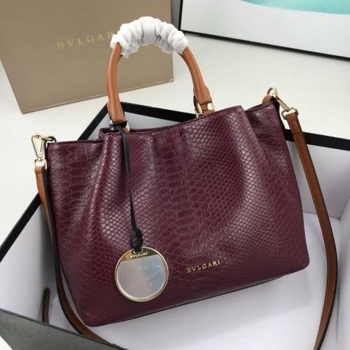 Bvlgari AAA Quality Handbags For Women #784136