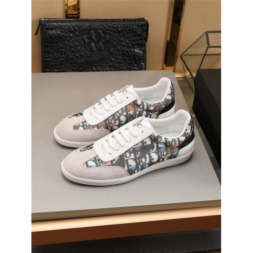 Christian Dior Casual Shoes For Men #784375 $69.84, Wholesale Replica Christian Dior Shoes