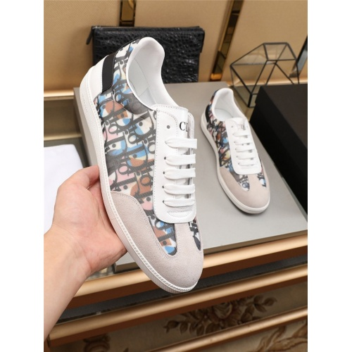 Replica Christian Dior Casual Shoes For Men #784375 $69.84 USD for Wholesale